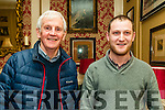 Paul Taylor and Austin Quilter - Listowel Toastmasters Group pictured at the Listowel Arms Hotel on Friday.