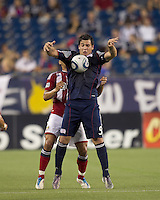 In a Major League Soccer (MLS) match, Chivas USA defeated the New England Revolution, 3-2, at Gillette Stadium on August 6, 2011.