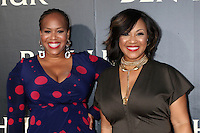 """HOLLYWOOD, CA - AUGUST 16: Trecina Atkins-Campbell, Erica Atkins-Campbell aka Mary Mary at the LA Premiere of the Paramount Pictures and Metro-Goldwyn-Mayer Pictures title """"Ben-Hur"""", at the TCL Chinese Theatre IMAX on August 16, 2016 in Hollywood, California. Credit: David Edwards/MediaPunch"""
