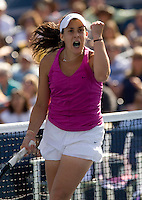 Marion Bartoli (FRA) (14) against Kim Clijsters (BEL) in the second round. Clijsters beat Bartoli 5-7 6-1 6-2..International Tennis - US Open - Day 3 Wed 02 Sep 2009 - USTA Billie Jean King National Tennis Center - Flushing - New York - USA ..© Frey, Advantage Media Network, Level 1, Barry House, 20-22 Worple Road, London, SW19 4DH +44 208 947 0100..