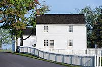 Historic Jacob Hummelbaugh farm  house,.Gettysburg National Military Park, Pennsylvania, USA