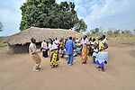Sunday morning worship at the United Methodist Church in Pisak, a small village in Central Equatoria State in Southern Sudan.
