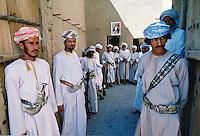 Guards at the Nizwa Fort, Oman