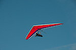 Hang gliding, hang glider, Fort Funston, San Francisco, California, USA.  Photo copyright Lee Foster.  Photo # california108366