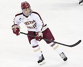 Quinn Smith (BC - 27) - The Boston College Eagles defeated the visiting University of New Hampshire Wildcats 5-2 on Friday, January 11, 2013, at Kelley Rink in Conte Forum in Chestnut Hill, Massachusetts.