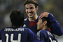 (L to R)  Mike Havenaar, Shinji Kagawa (JPN), OCTOBER 11, 2011 - Football / Soccer : 2014 FIFA World Cup Asian Qualifiers Third round match between Japan 8-0 Tajikistan at Nagai Stadium in Osaka, Japan. (Photo by Akihiro Sugimoto/AFLO SPORT) [1080]