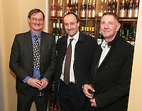 From left are Graham Hicks, Owen Matthias and Andrew Butler