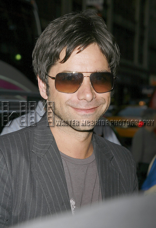 John Stamos attending the Opening Night performance of the Roundabout Theatre Company's Broadway production of THE THREEPENNY OPERA at Studio 54 in New York City..April 20, 2006 .© Walter McBride/WM Photography