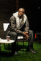 """18/05/2011.  """"Mad Blud"""" opens at Theatre Royal Stratford East. A new work exploring the reality behind the headlines of knife crime. Picture shows Dwayne Hutchinson. Photo credit should read Jane Hobson"""