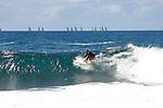 Surfer at Manly Beach.Surfer at Manly Beach.