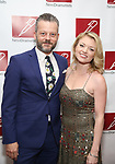 Jeremy Kushnier and Ruby Lewis attend The New Dramatists' 68th Annual Spring Luncheon at the Marriott Marquis on May 16, 2017 in New York City.