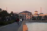Charleston South Carolina Lowcountry Sunset on the Battery Ravenel Bridge