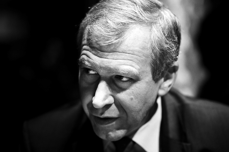PARIS, FRANCE. DECEMBER 9, 2011. Belgium&rsquo;s former Prime Minister Yves Leterme, now the Deputy Secretary-General of the OECD, being interviewed by De Tijd at the Brasserie du Coq, a French restaurant. Photo: Antoine Doyen