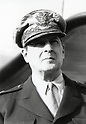 Undated, Japan - Douglas MacArthur (1880-1964) in Japan circa 1945-1951. He had ordered on August 29, 1945 to exercise authority through the Japanese government machinery, including Emperor Hirohito. MacArthur as Supreme Commander of the Allied Powers in Japan and his GHQ staff helped a devastated Japan rebuild itself, institute a democratic government, and chart a course that made Japan one of the world's leading industrial powers.  (Photo by Kingendai Photo Library/AFLO)
