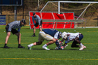 Liberty Universities' Men's Lacrosse team hosts George Washington University winning 19-6 on April 5, 2014. (Photo by: James Hancock)