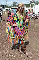JUN 27 Paloma Faith attends Glastonbury Festival 2015