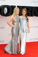 LONDON, ENGLAND - JULY 11: Julia Stiles and Alicia Vikander attending the 'Jason Bourne' European Premiere at Odeon Cinema, Leicester Square on July 11, 2016 in London, England.<br /> CAP/MAR<br /> &copy;MAR/Capital Pictures /MediaPunch ***NORTH AND SOUTH AMERICAS ONLY***