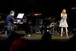 """The cast of  Neil Berg's """"100 Years of Broadway"""",  performs at the Philharmonic Society of Orange County's 2012 Gala."""