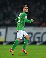 FUSSBALL   1. BUNDESLIGA   SAISON 2011/2012   19. SPIELTAG Werder Bremen - Bayer 04 Leverkusen                    28.01.2012 Tom Trybull (SV Werder Bremen)