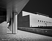 JOSHI Center, Wright State University Dayton, Ohio, Winning photo of AIA photo contest, black and white