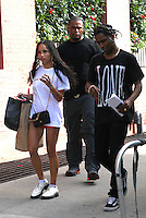 NEW YORK, NY - JULY 19: Zoe Kravitz and A$AP Rocky seen on July 19, 2016 in New York City. Credit: DC/Media Punch