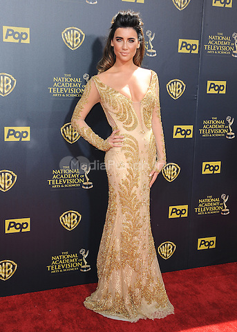 BURBANK, CA - APRIL 26:  Jacqueline MacInnes Wood at the 42nd Annual Daytime Emmy Awards at Warner Brothers Studios on April 26, 2015 in Burbank, California. Credit: PGSK/MediaPunch