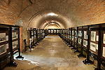 Inside some of the underground bunkers of Huwei Fort ???? can be found displays and historical images.