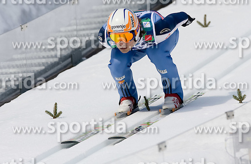 HRGOTA Robert, SSK Velenje, SLO  competes during Flying Hill Individual Third Round at 3rd day of FIS Ski Flying World Championships Planica 2010, on March 20, 2010, Planica, Slovenia.  (Photo by Vid Ponikvar / Sportida)