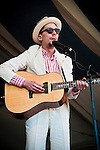 Justin Townes Earle performs at the New Orleans Jazz and Heritage Festival in New Orleans, Louisiana, April 29, 2011.