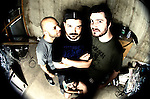 I did a quick shoot with Miami-based stoner metal dudes Torche after their set at The Firebird in Saint Louis, MO on June 18th, 2012. Rad dudes, or the raddest? [Fisheye]