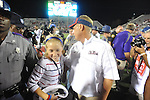 Ole Miss Coach Hugh Freeze at Vaught-Hemingway Stadium in Oxford, Miss. on Saturday, September 1, 2012.