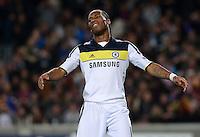 FUSSBALL   CHAMPIONS LEAGUE SAISON 2011/2012   HALBFINALE   RUECKSPIEL        FC Barcelona - FC Chelsea       24.04.2012 Didier Drogba (FC Chelsea) enttaeuscht