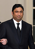 Rajiv Kumar Fernando,CEO of Chopper Trading, arrives for the Official Dinner in honor of Prime Minister David Cameron of Great Britain and his wife, Samantha, at the White House in Washington, D.C. on Tuesday, March 14, 2012.  Mr. Fernando is one of United States President Barack Obama's biggest campaign fundraisers..Credit: Ron Sachs / CNP.(RESTRICTION: NO New York or New Jersey Newspapers or newspapers within a 75 mile radius of New York City)