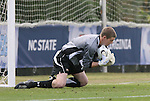 12 November 2008: Maryland's Zac MacMath. The University of Maryland defeated the University of North Carolina 1-0 at Koka Booth Stadium at WakeMed Soccer Park in Cary, NC in a men's ACC tournament quarterfinal game.