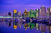 Coal Harbour and Downtown Vancouver, British Columbia, Canada