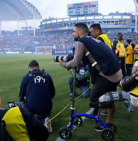 Carson, CA - May 6, 2017: The Los Angeles Galaxy and Chicago Fire played to a 2-2 draw in a regular season Major League Soccer (MLS) game at StubHub Center.