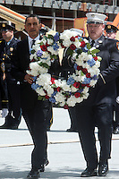 President Obama lays wreath in memory of 9/11 victims at World Trade Center Site in New York City