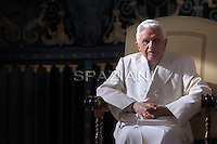 Pope Benedict XVI  the weekly general audience on November 17, 2010, in St Peter's square at the Vatican