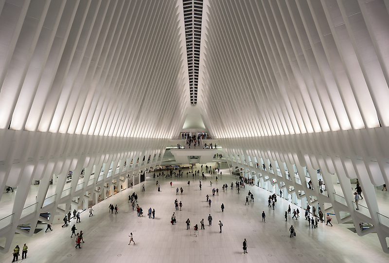 The Oculus<br /> World Trade Center Transportation Hub<br /> New York City