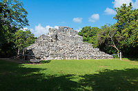 Ruins of the San Gervasio archaeological Mayan site, Cozumel, Mexico