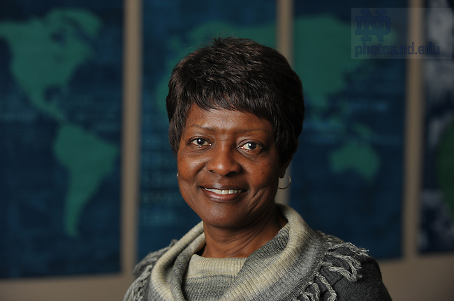 Margaret McKinney Arnold For the Center for Social Concerns..Photo by Matt Cashore/University of Notre Dame