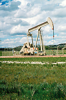OIL WELL<br /> Pumping Rig<br /> Northeast Wyoming, USA