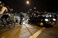"""09.01.2012 - """"Bikes Alive"""" Protest In Kings Cross"""