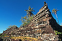 Pohnpei, Micronesia: Nan Douwas, the main structure at Nan Madol, an ancient social, political and religious complex constructed of basalt columns between 1100-1500 AD.