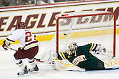 Patch Alber (BC - 27), Rob Madore (Vermont - 29) - The Boston College Eagles defeated the visiting University of Vermont Catamounts 6-0 on Sunday, November 28, 2010, at Conte Forum in Chestnut Hill, Massachusetts.