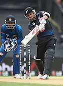 14.02.2015. Christchurch, New Zealand.  Brendon McCullum batting during the ICC Cricket World Cup match between New Zealand and Sri Lanka at Hagley Oval in Christchurch, New Zealand. Saturday 14 February 2015.