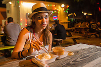 Austin's food-court trailer parks are locally legendary for both their diverse, experimental and delicious cuisine and cheerful friendly Texas attitude.