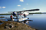 Alaska: Flying in a small plane to fish. Photo akflyi103..Photo copyright Lee Foster, 510/549-2202,  lee@fostertravel.com, www.fostertravel.com