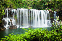 Kilauea Falls, a gem of a waterfall even by Kauai standards