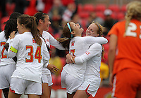 COLLEGE PARK, MD - OCTOBER 28, 2012:  of the University of Maryland of Miami during an ACC  women's tournament 1st. round match at Ludwig Field in College Park, MD. on October 28. Maryland won 2-1 on a golden goal in extra time.